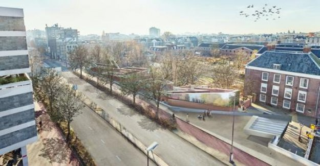 A legal dispute over a Holocaust monument in Amsterdam