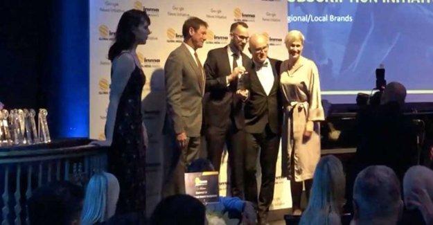 Aftonbladet winner at INMA Awards