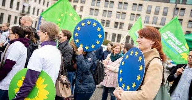 Analysis-EU election: Green leave the Union and the SPD look old