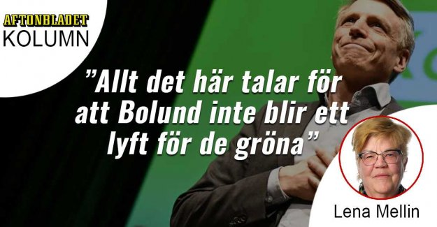 Bolund gets a boost for the green Party – or not