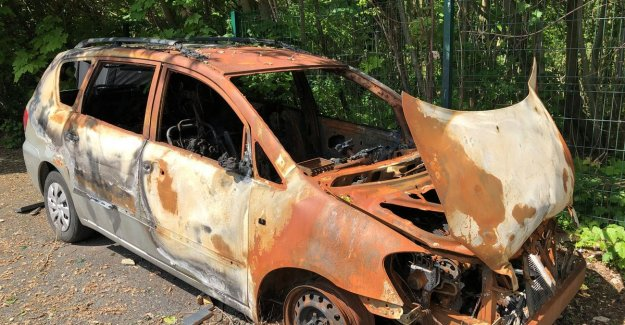Car burns out on new year's eve: church lets wreck this week out