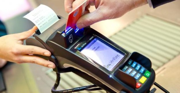 Card payments surpassed cash payments in the retail