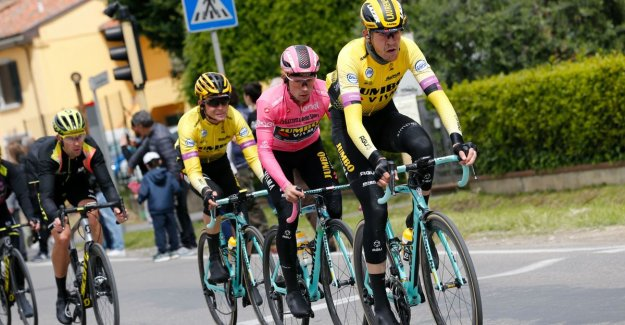 Downer for Roglic: head-man The Plus get sickness from Giro