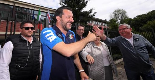European elections in Italy: Salvini triumphs