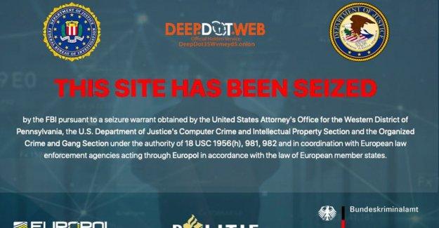 FBI retrieves news website Deep Dot Web offline because of the left to the darkweb