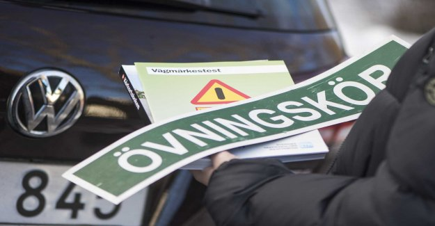 Failed driving test – got very upset