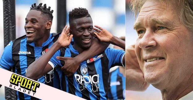 Glenn Strömberg on Atalanta: I believe in them