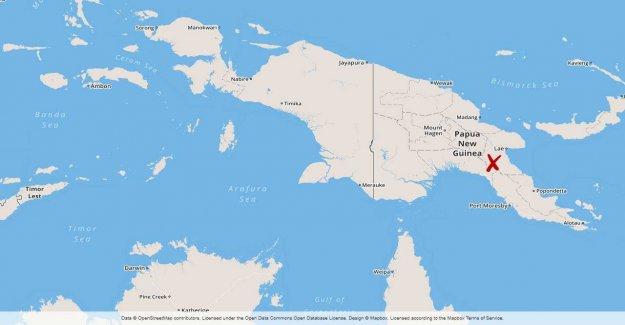 Greatly quake in Papua New Guinea