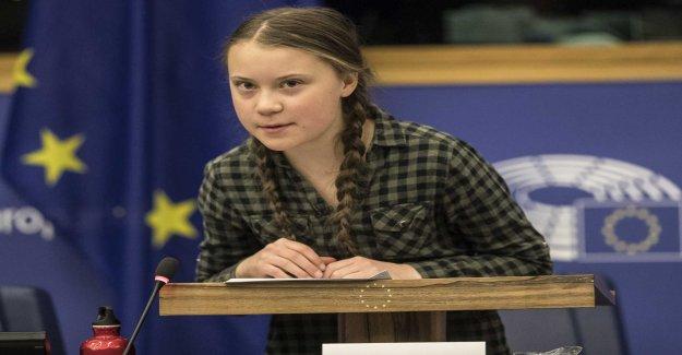 Greta gets an honorary doctorate in Belgium