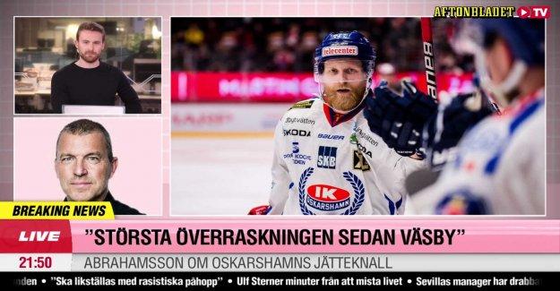 Historic deed – IK Oskarshamn to SHL