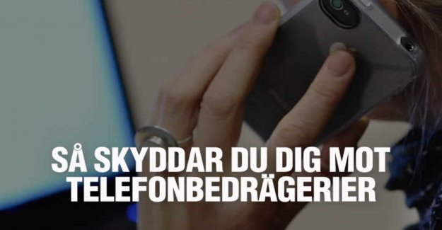 How to protect yourself against telefonbedrägerier