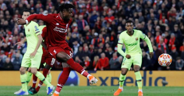 If a Devil out of a mirakeldoosje! Origi gives Liverpool with two goals against unrecognizable Barcelona second final in a row