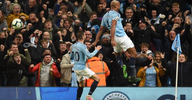 King Kompany'! Red Devil takes City with a phenomenal goal close to sixth national championship