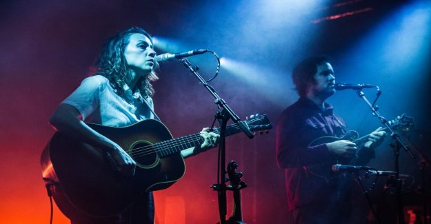 Konsertrecension: Mandolin Orange manages to land in exactly the right tempo