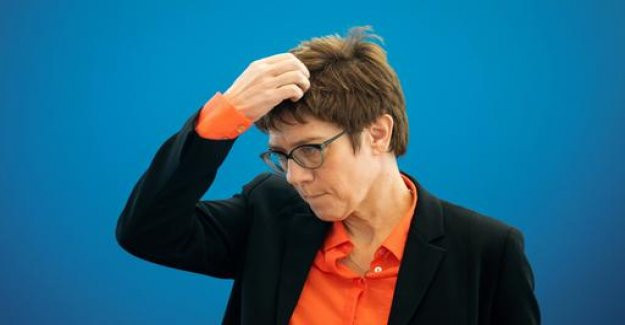 Kramp-Karrenbauer: The disenchanted bearer of hope