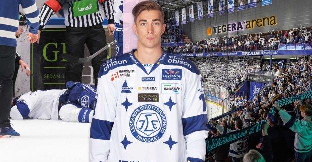 Leksand start the foundation of Tobias Forsberg's name