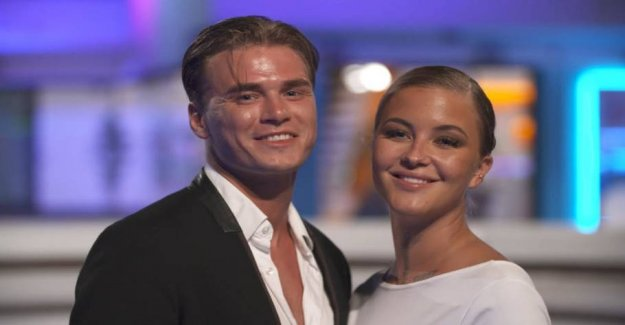 Love burst: Danish tv-couple goes from each other