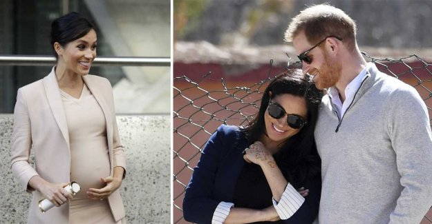 Meghan Markle and prince Harry has had a son