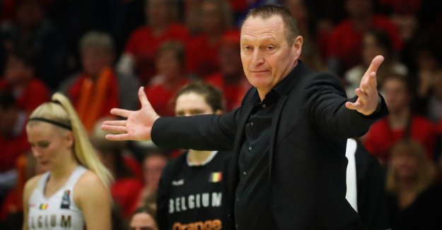 Mestdagh draws and makes achttienkoppige pre-selection for european CHAMPIONSHIPS basketball known