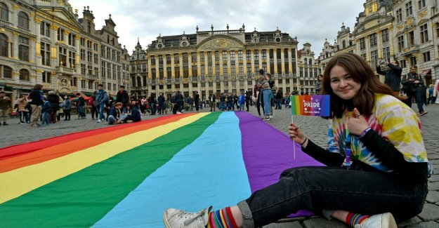 More than 200 participants to kick off Belgian Pride Festival in Brussels