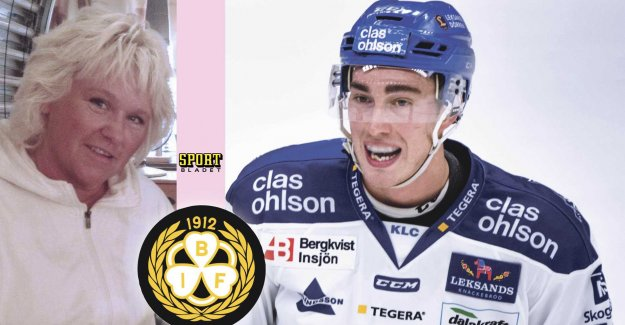 Nice gesture to Forsberg: there Is no rivalry – only love