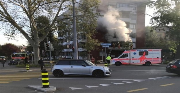 Person dies in fire in Zurich-Wiedikon
