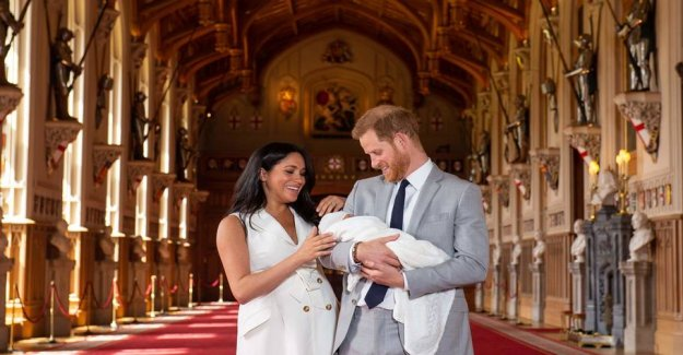 Royal baby: Now the son, above