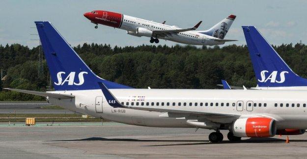 SAS pilotstrejk positive for the Norwegian