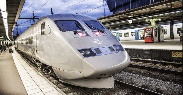SJ want to have high-speed trains to the continent