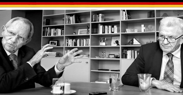 Schäuble and Kretschmann complain about the state of federalism