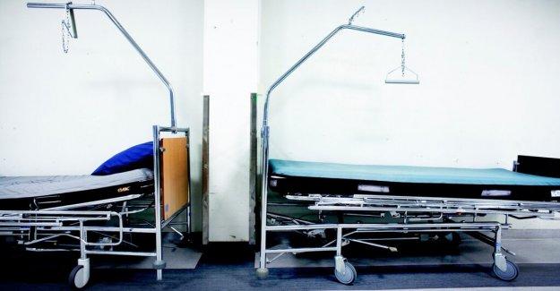 Sharp reduction of the number of beds at the Karolinska