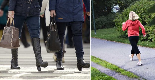 Study: Those who walk fast live longer