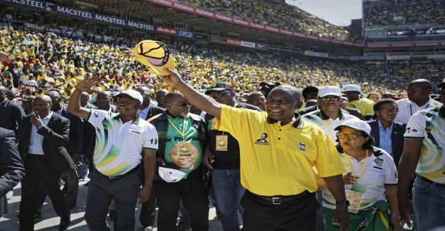 The fight for power in south Africa