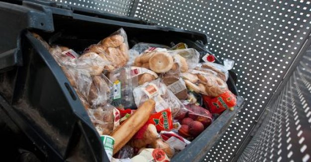 The food in the garbage: containers - soon to be allowed?