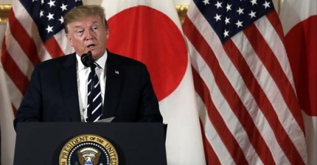 Trump calls for more Japanese investment in the United States