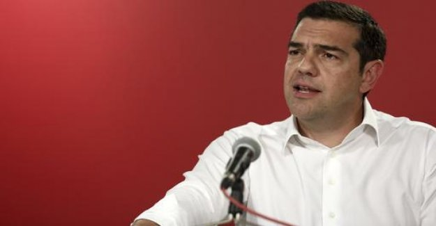 Tsipras announces snap election in Greece