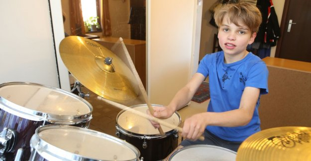 VIDEO: Justin Maes (11) is the best young drummer of Flanders