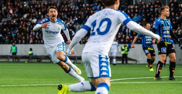 Young Gothenburg storms out – crushed Sirius
