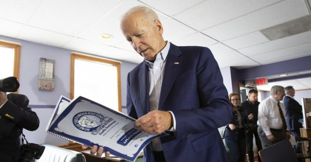 Accusations of plagiarism against Democrat Joe Biden