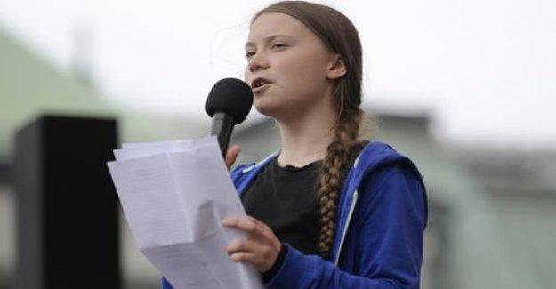 Amnesty International honors Greta Thunberg