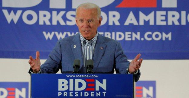Biden is in Iowa poll, front