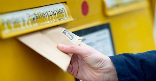 Deutsche Post increased the postage