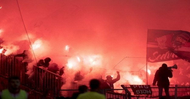Violence on every fourth soccer game