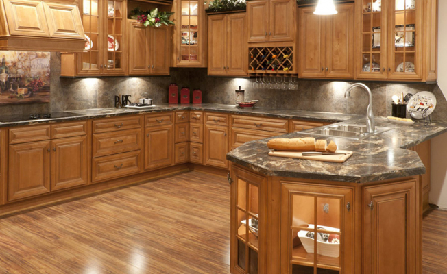 What Kitchen Cabinets Are Made Of