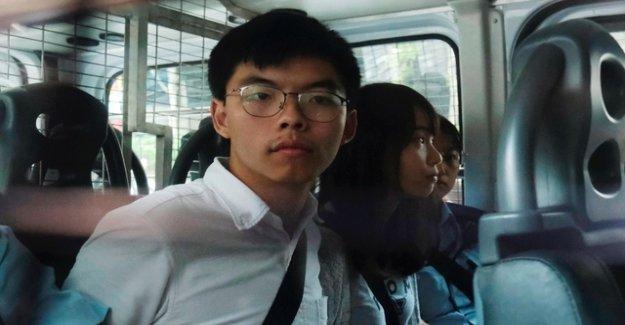 Hong Kong activist flies to Berlin