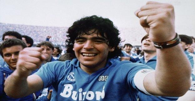 Of course, lying to Maradona