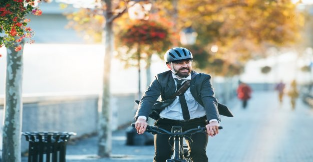 Twice as much as the Belgians cycle to work as they did 5 years ago