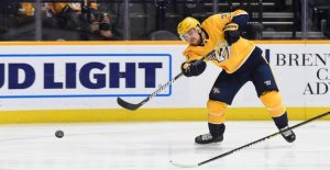 Arvidsson scored his second hat-trick in the NHL