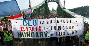 Central European University, Budapest : FDP: Displaced Uni make the first European University