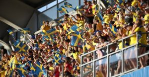 The national team is betting on the attendance record
